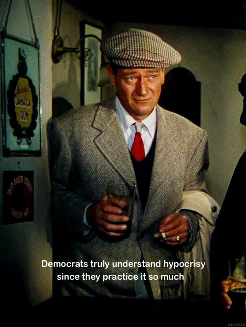 Democrats practice hypocrisy