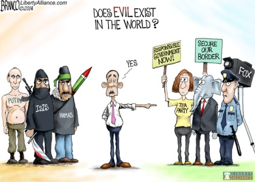 Evil exists
