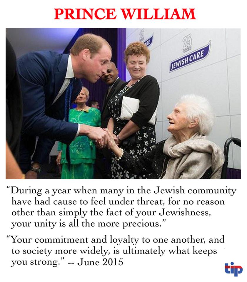 Prince William and Jews