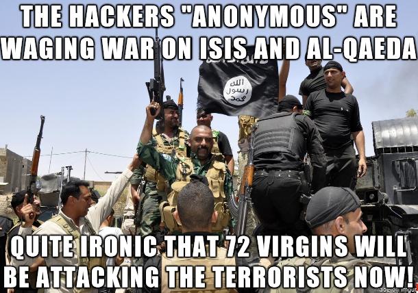 Hackers ISIS virgins