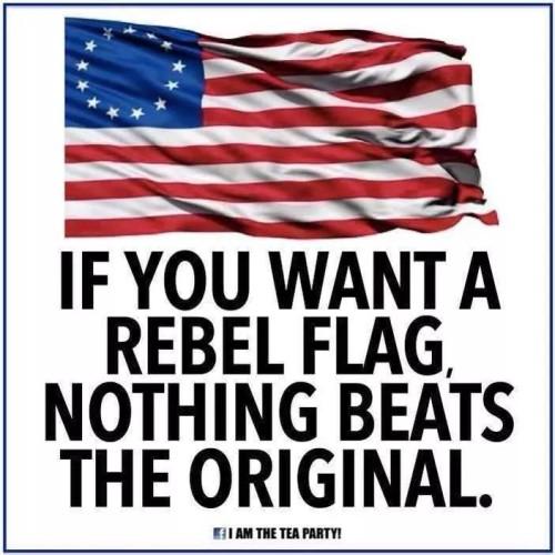 Original rebel flag