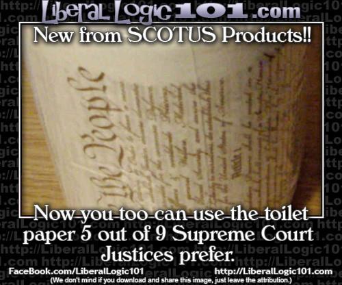 Supreme Court toilet paper