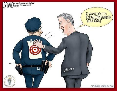 DeBlasio and the cops