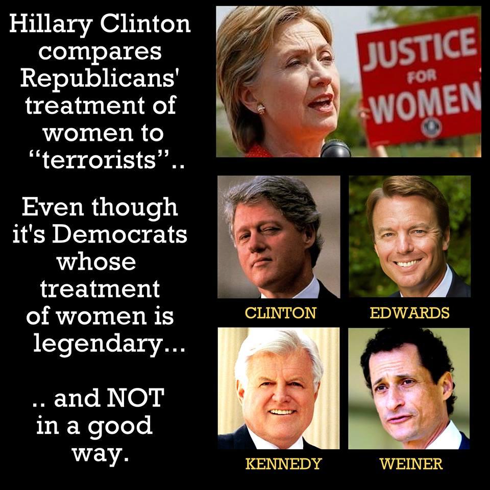 Democrat politicians' war on women