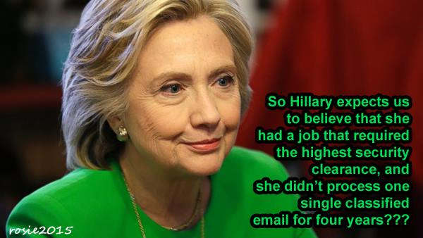 Hillary and classified documents