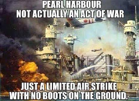 Pearl harbor limited air strike