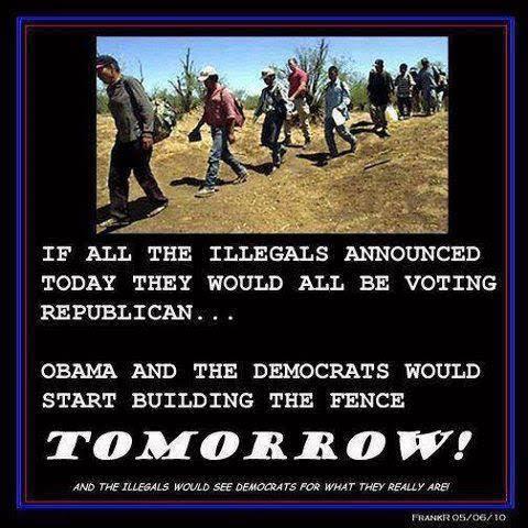What if illegals were Republicans
