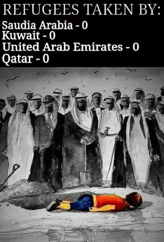 Arabs countries and refugees