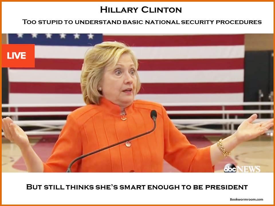 Dumb Hillary