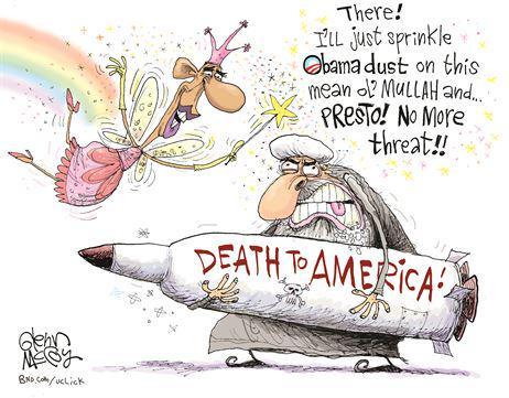 Obama's sprinkles fairy dust on mullahs