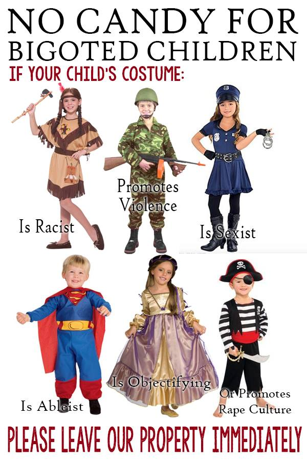 Leftist dream Halloween