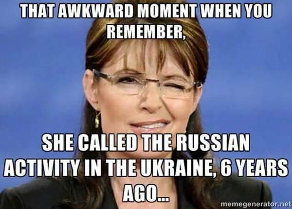 Sarah Palin and Russia