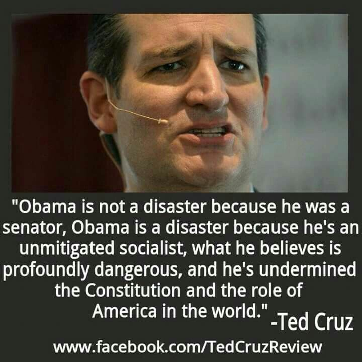 TedCruz on Obama dangers