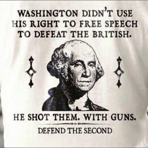 Washington and guns