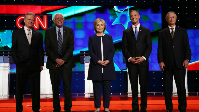 First Democratic Presidential Debate 2015
