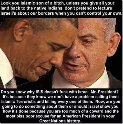Imagine if Netanyahu schooled Obama about ISIS
