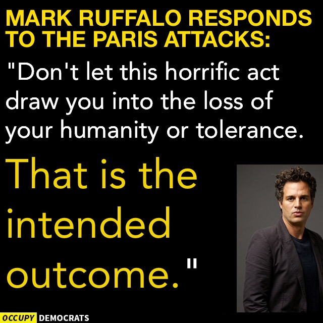 Mark Ruffalo idiocy