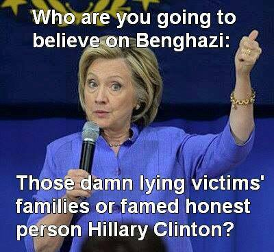 Are you going to believe Hillary about Benghazi