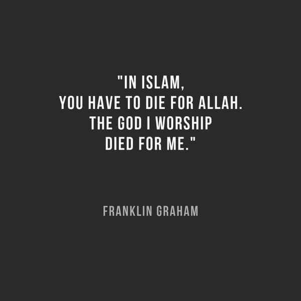 Franklin Graham on Allah and Jesus