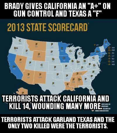 Garland Texas guns and terrorists