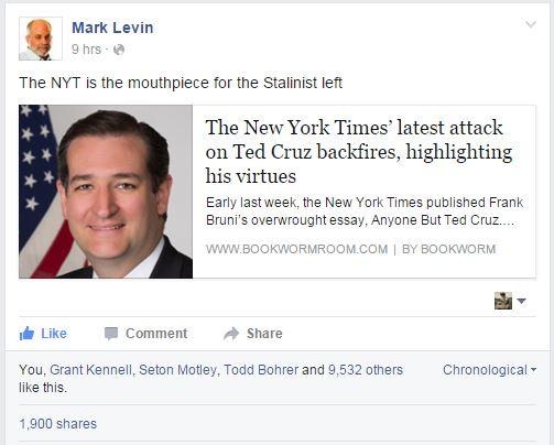 Mark Levin Facebook