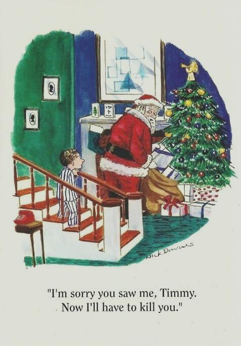 Santa kill little Timmy