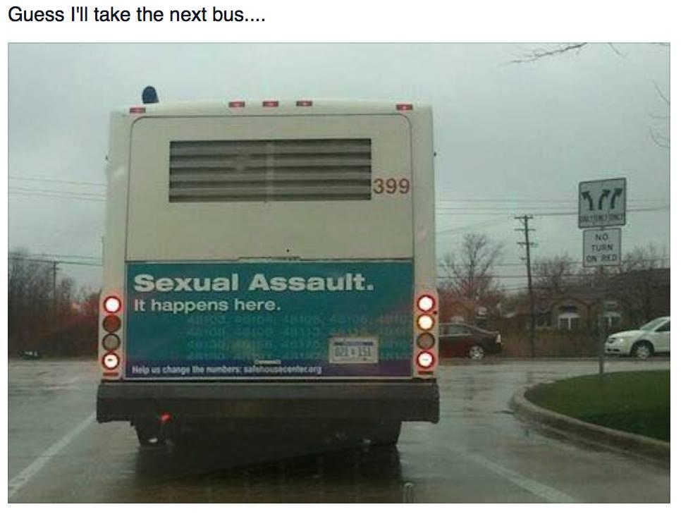 Sexual assault bus