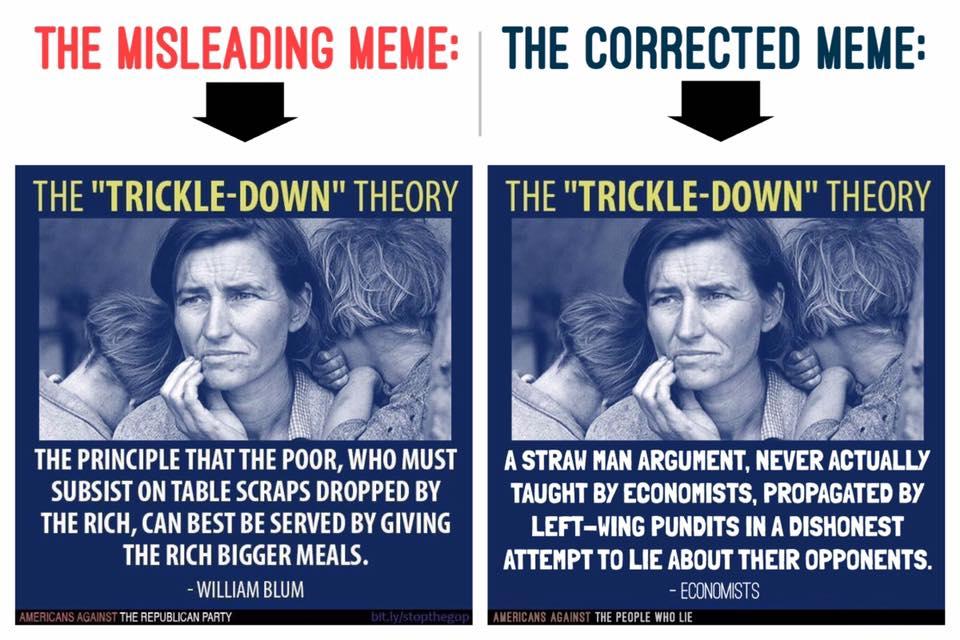 Trickle down economics - 3 part 8