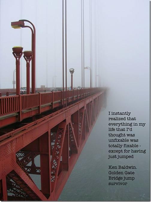 Golden Gate Bridge jumper