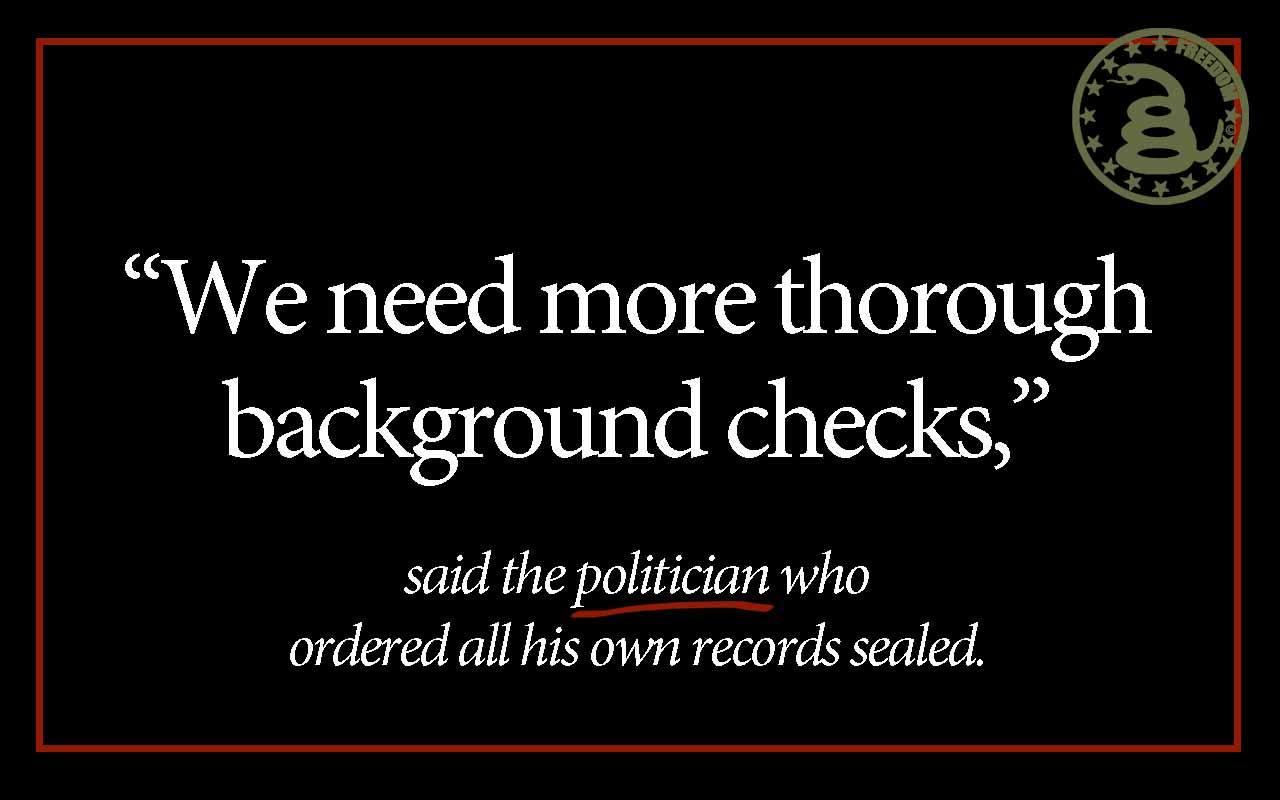 Obama hypocrite on background checks