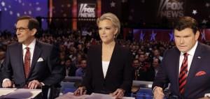 Republican debate moderators Megan Kelly