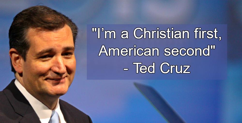 Ted Cruz Christian