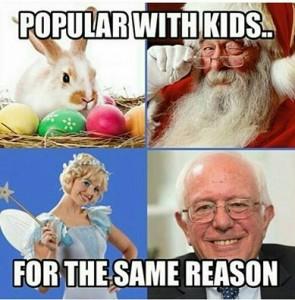 Bernie tooth fairy santa clause easter bunny
