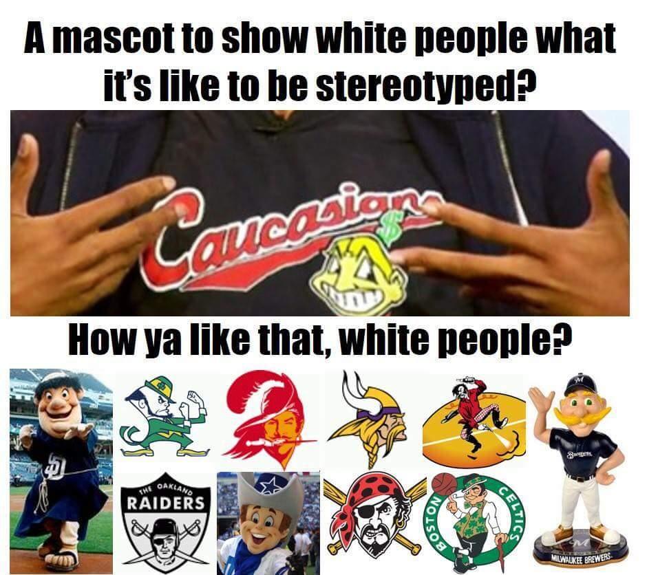 Blacks white stereotypes