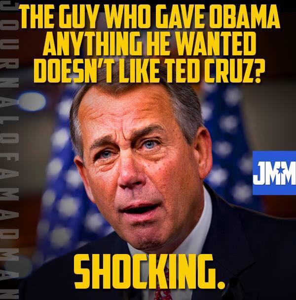 Cruz Boehner spat