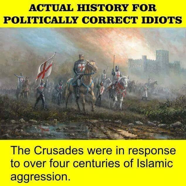 Islam Crusades defensive war