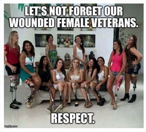 Military Wounded female veterans