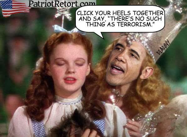 Obama ignores terrorism