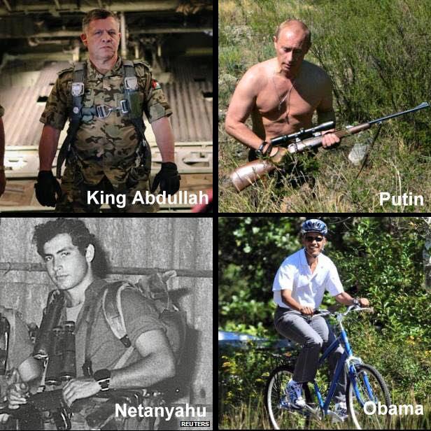 Obama not a manly leader