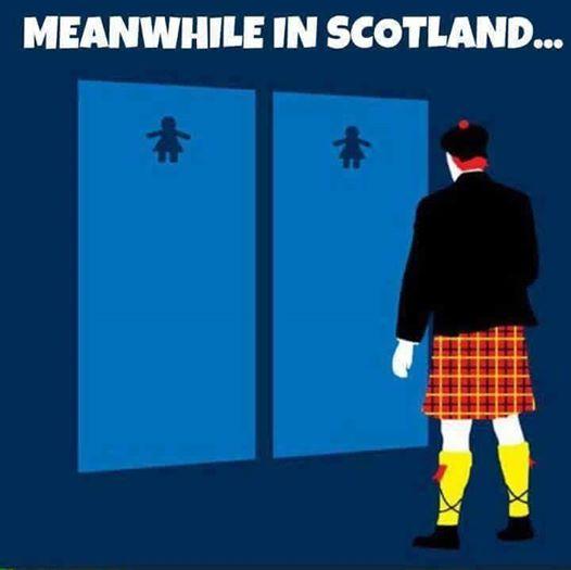 Silly Scottish bathroom confusion