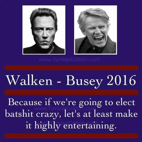 Silly Walker Busey in 2016