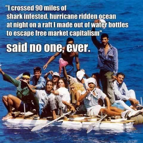 Socialism escape from Cuba