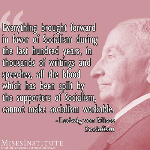 Socialism fail von Mises