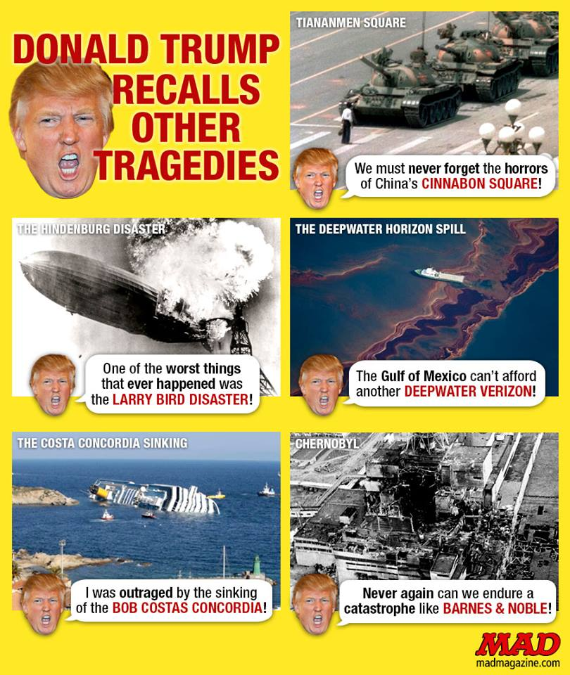 Trump's historical mistakes