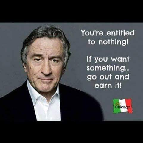 Wisdom no entitlements earn things