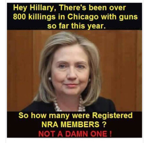 Guns Chicago killings no NRA members