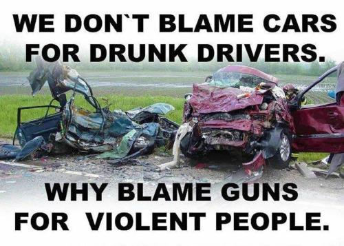 Guns cars drunks
