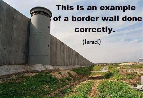 Immigration Israel border wall