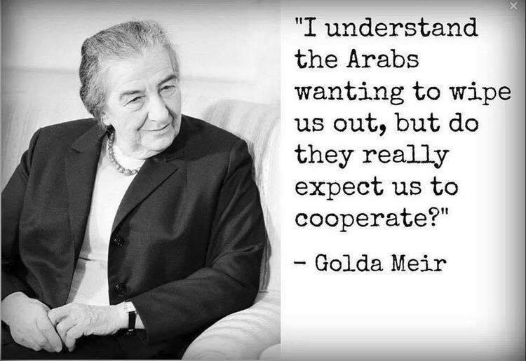 Islam Golda Meir Jews