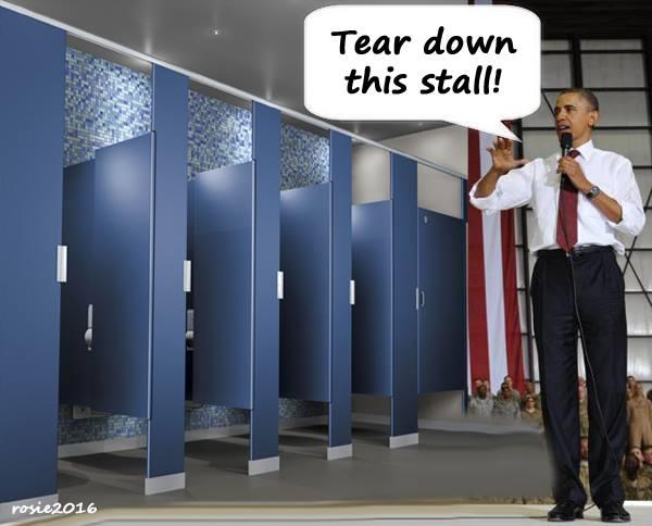 Obama Bathroom Gender